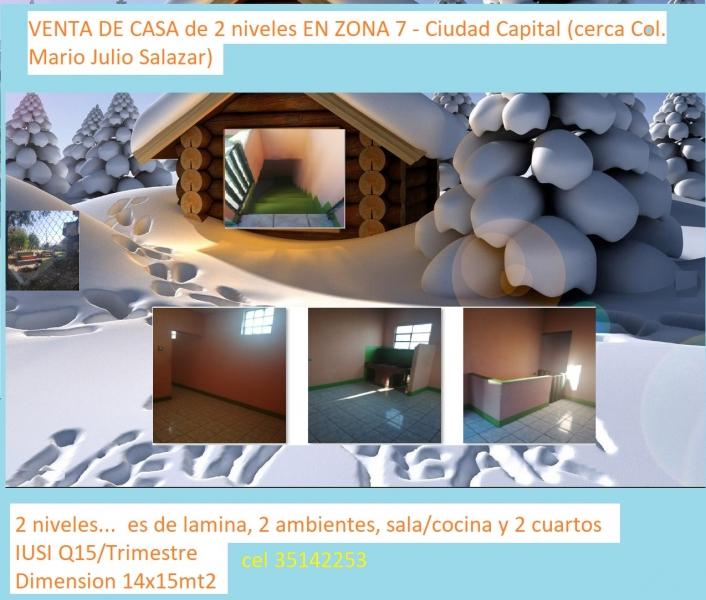 VENTA DE Inmueble EN ZONA 12 - (Cerca Estacion Transmetro Mariscal))