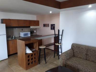 Lindo apartamento en renta, con linea blanca completa
