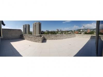apartamento penthouse en renta en zona pradera, zona 10