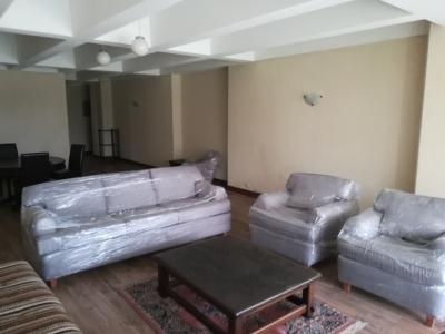 Apartamento amueblado en alquiler, zona 9