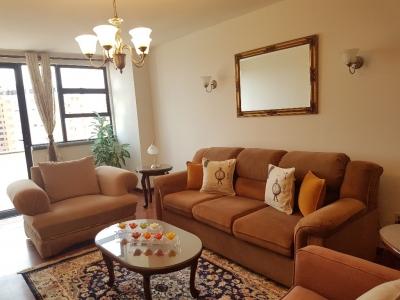 Apartamento AMUEBLADO con vista espectacular Zona 14
