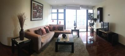 Apartamento Amoblado en Alquiler y Venta Zona 14, 3 Habitaciones, 239 m2, US$2,200 / US$330,000
