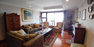 Apartamento amueblado en alquiler en zona 14 de 240 mts en $2,800 de 3 dormitorios /código 189
