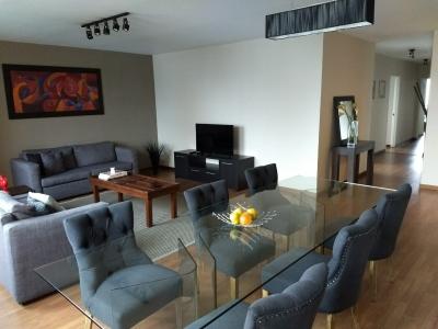 Apto. Z 13: 03 dormitorios; 180 Mt2; Totalmente amueblado, excelente ubicación;  ideal ejecutivos, multinacionales,embajadas, ONGS