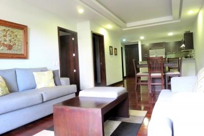 Apartamento amueblado y equipado  en renta zona 14 / San Patricio 2