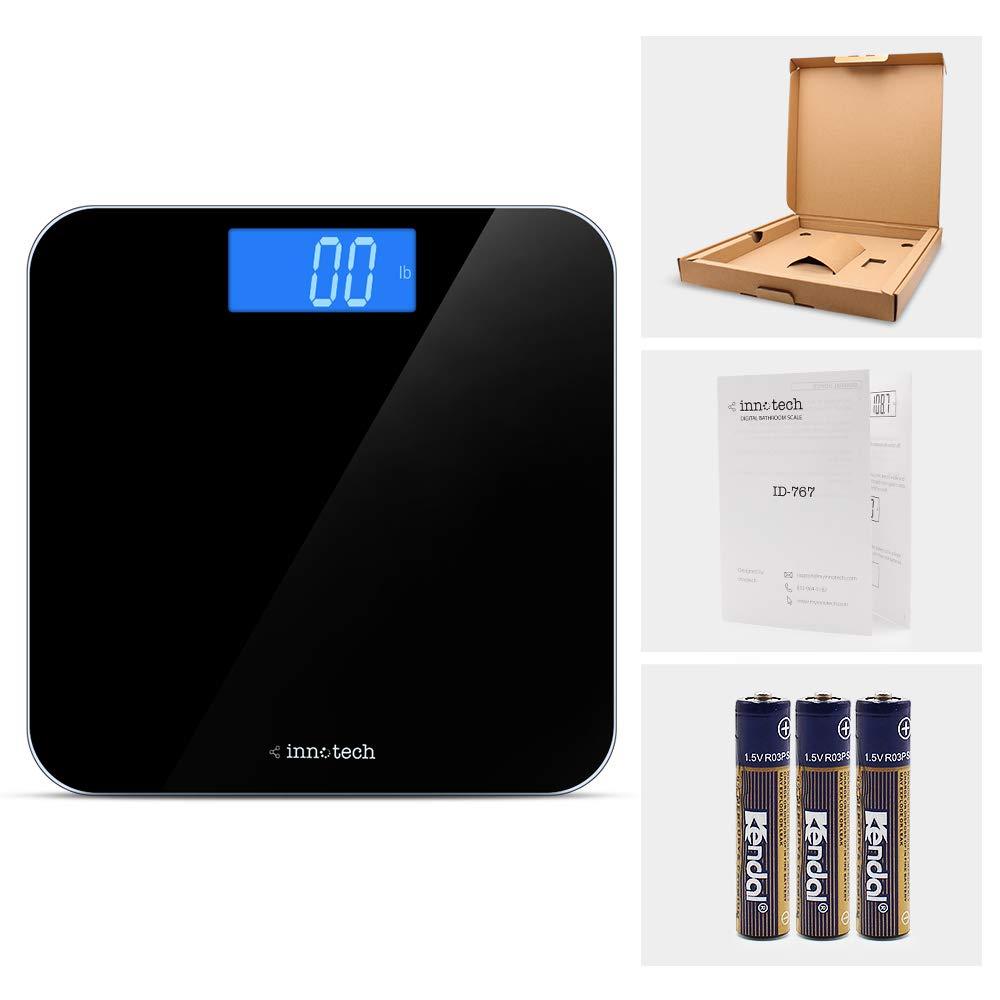Innotech Digital Bathroom Scale ID-767 Black