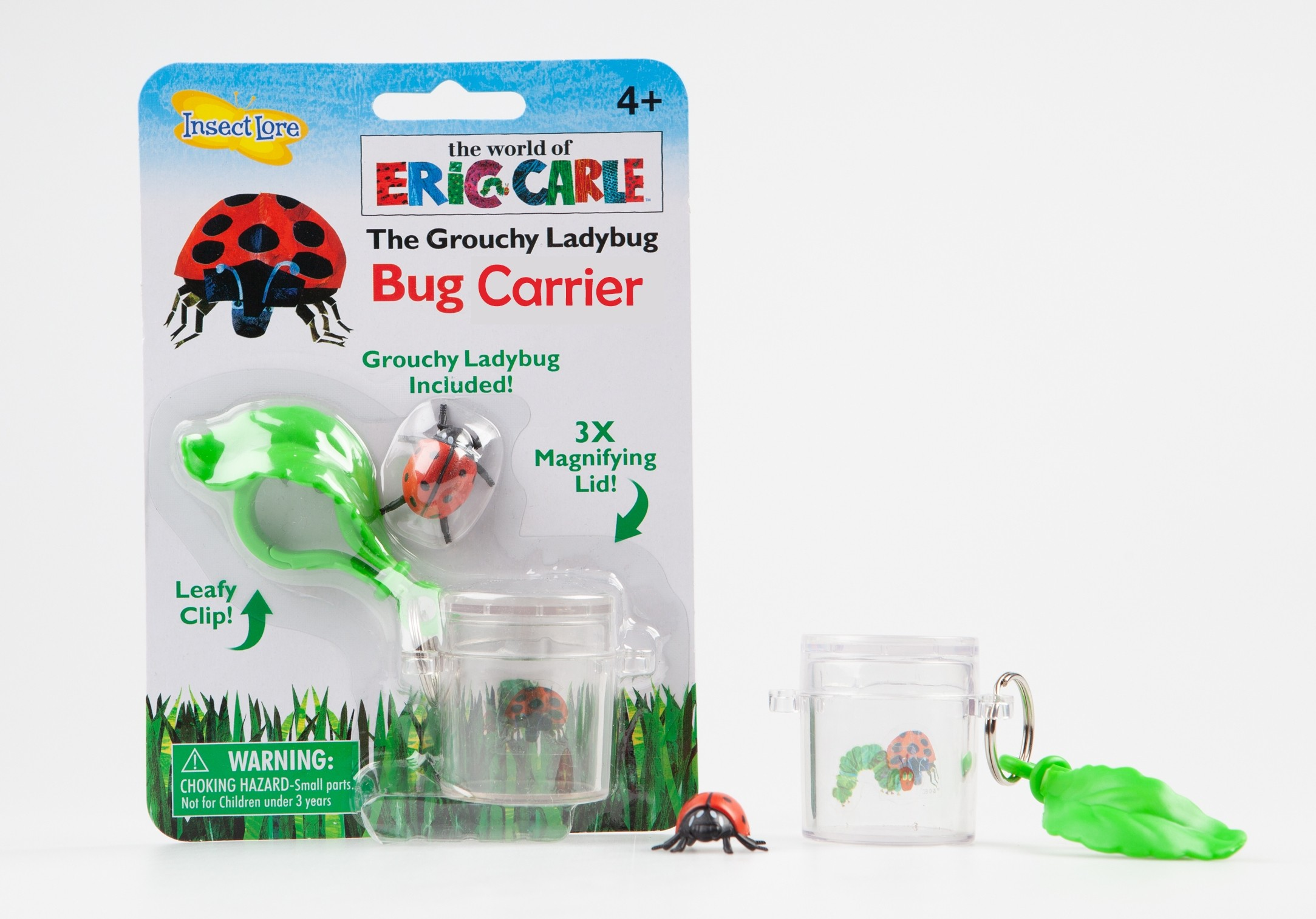 Bad-Tempered Ladybird™ Bug Carrier