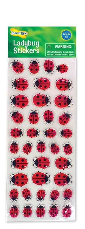 Ladybird Gel Stickers