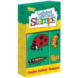 Ladybird Lifecycle Stamps