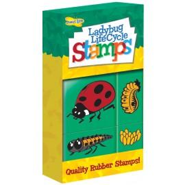 Ladybird Lifecycle Stamps