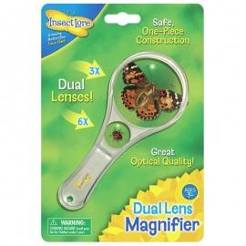 Dual Lens Magnifier