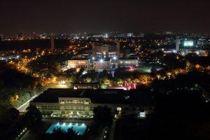ISB- Hyderabad campus @ night_InsideIIM