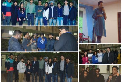 Speaker session & Bonfire night