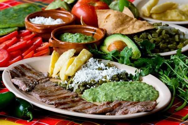 Recetas de comida mexicana balanceada