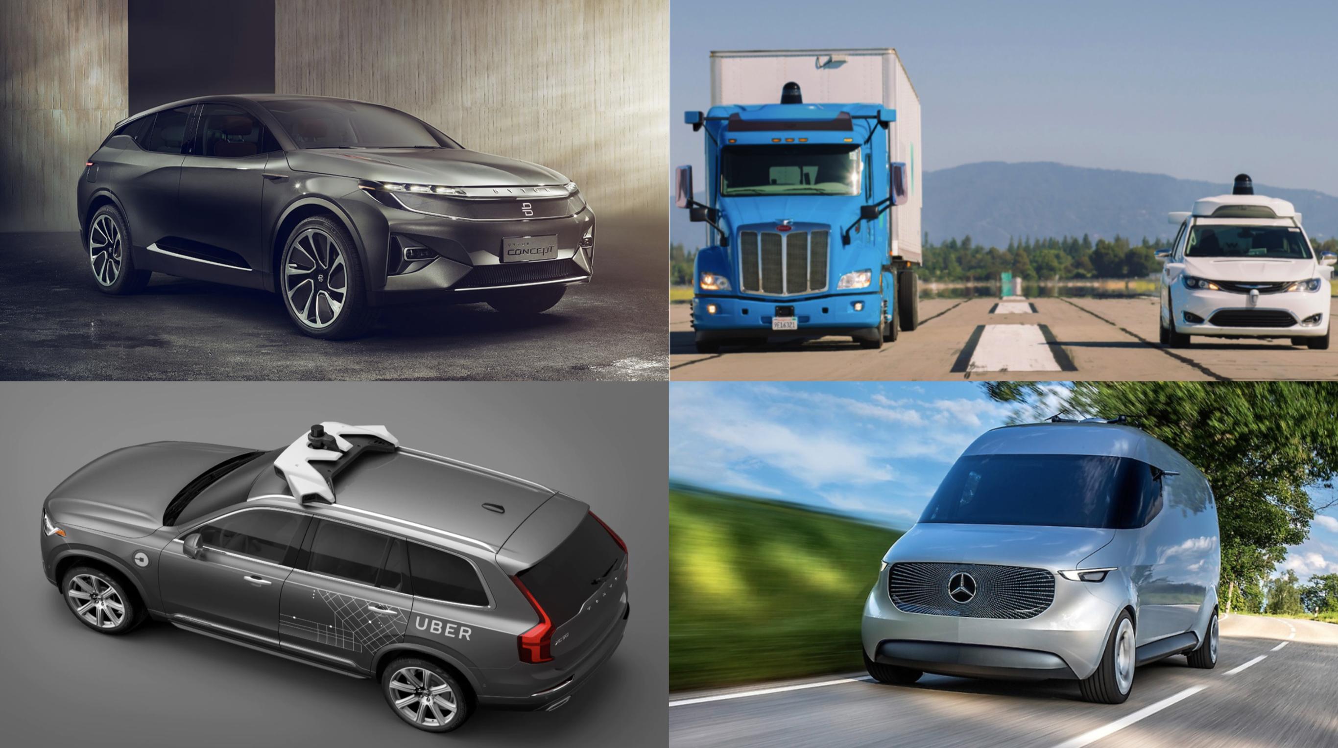 The Evolution of the Self-Driving Car Market Landscape