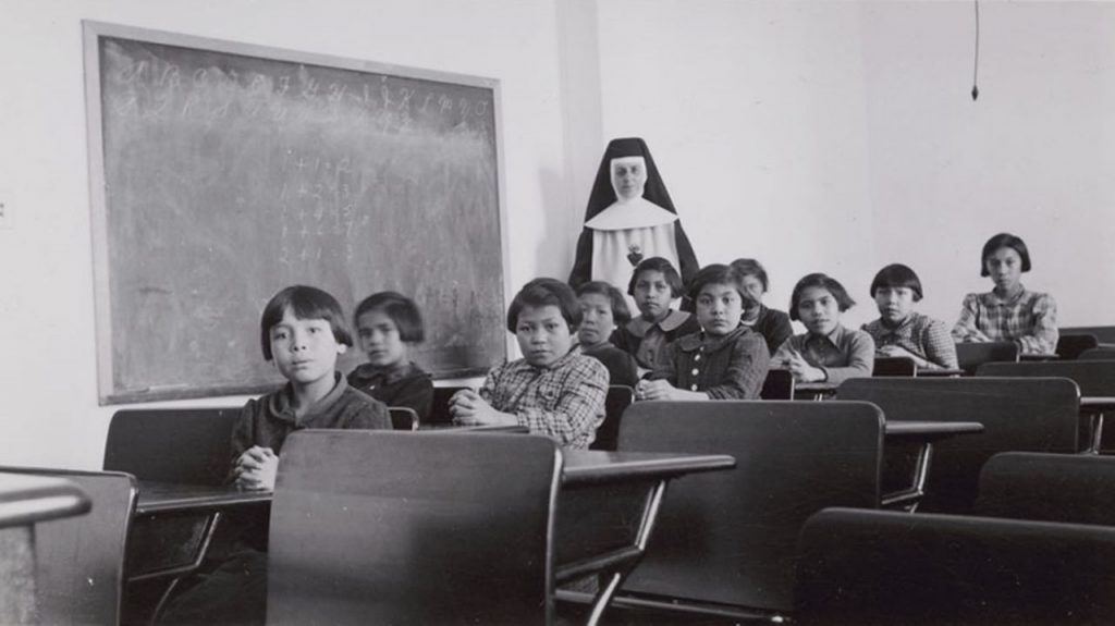 Cross Lake Indian Residential School
