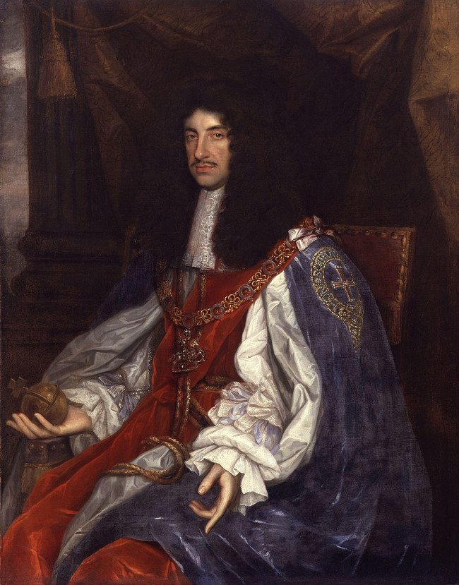 Charles II preferred his powdered skull mixed with alcohol.
