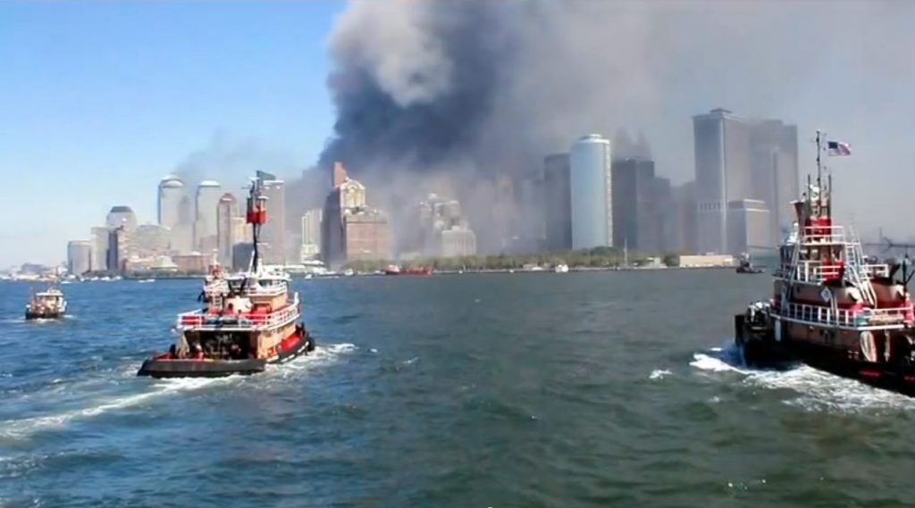 The Great Boat Lift of 9/11 became the largest sea evacuation in history.
