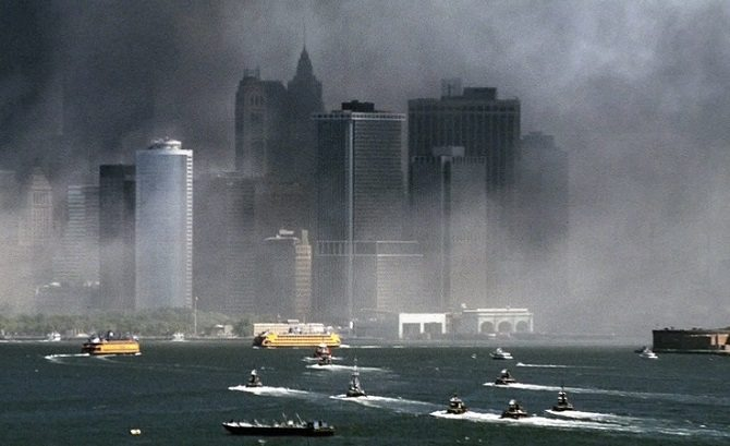 Screen capture from Boatlift: An Untold Tale of 9/11 Resilience (see video below).