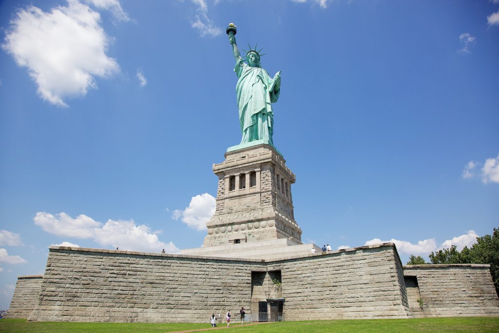 The Statue of Liberty is 305 feet from ground to tip of torch, only 37 feet taller than Glacier Girl's ice cocoon.