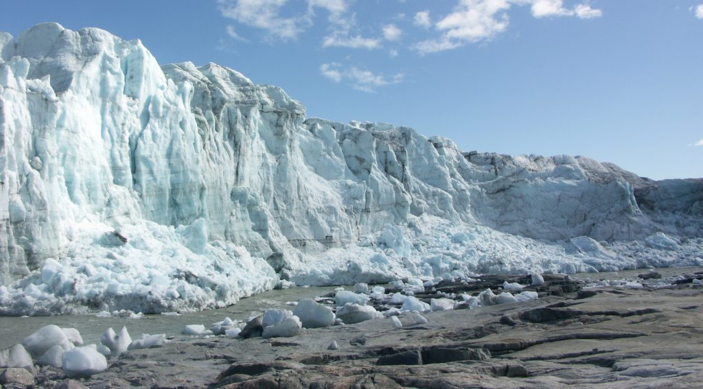 Glacier look pretty, but they make bad runways. Source: Wikipedia