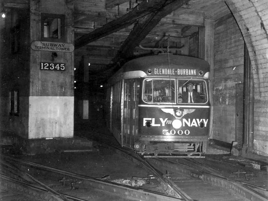 Pacific Electric Subway