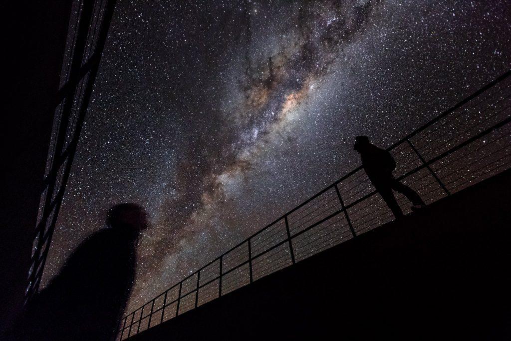 Under the Milky Way in the Atacama desert. Source: Luis Calçada