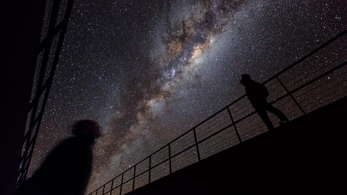 Under the Milky Way in the Atacama desert. Source: Luis Calçada