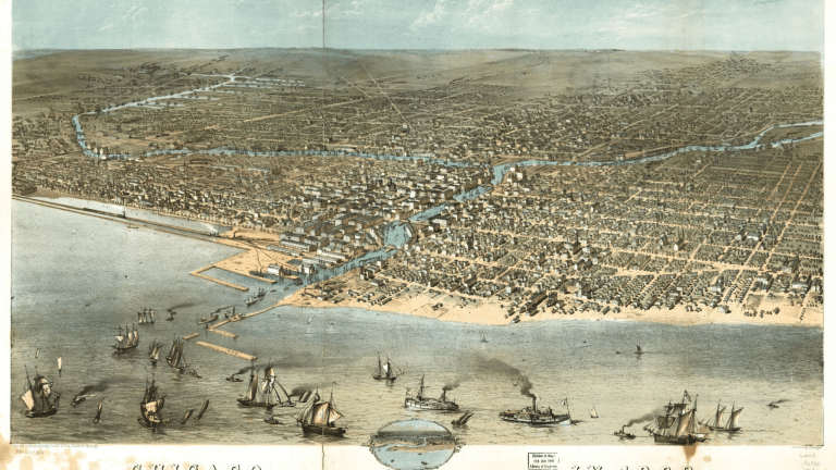 Chicago in 1868