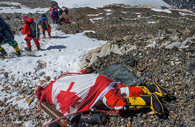 Canadian Shriya Shah-Klorfine died on the way down from Mount Everest. Her body has since been recovered.
