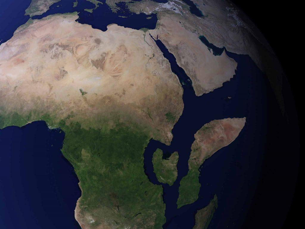 Africa Rift Zones