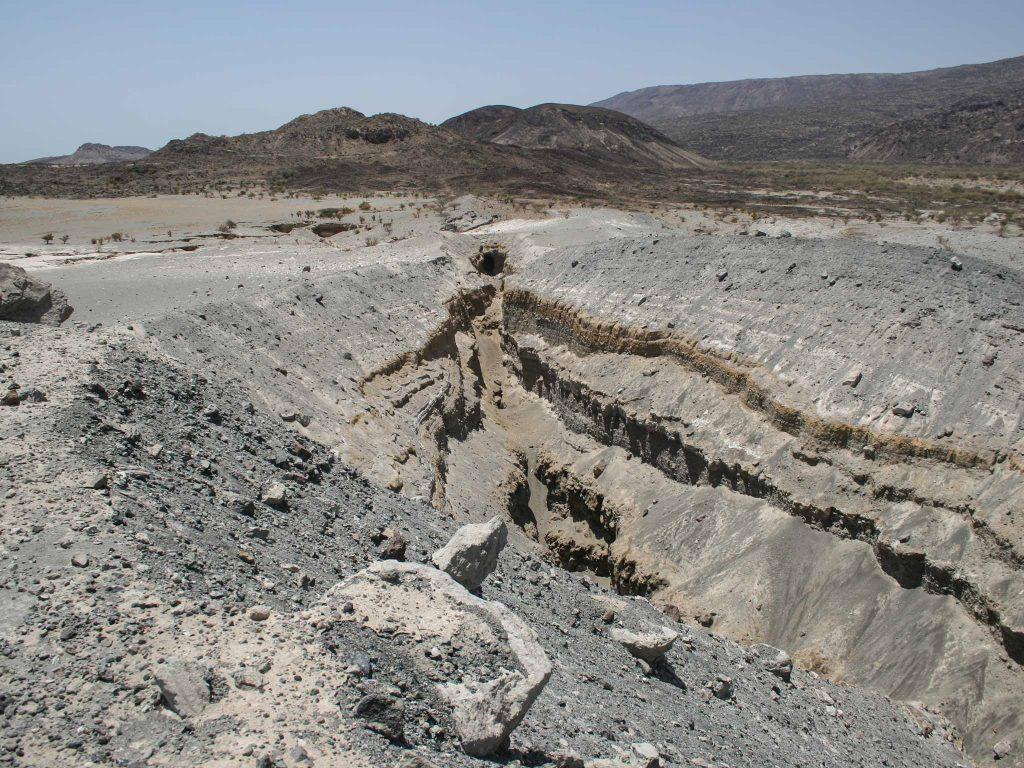 Volcanic vent, Afar Region