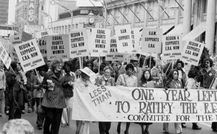 Women protest 1978