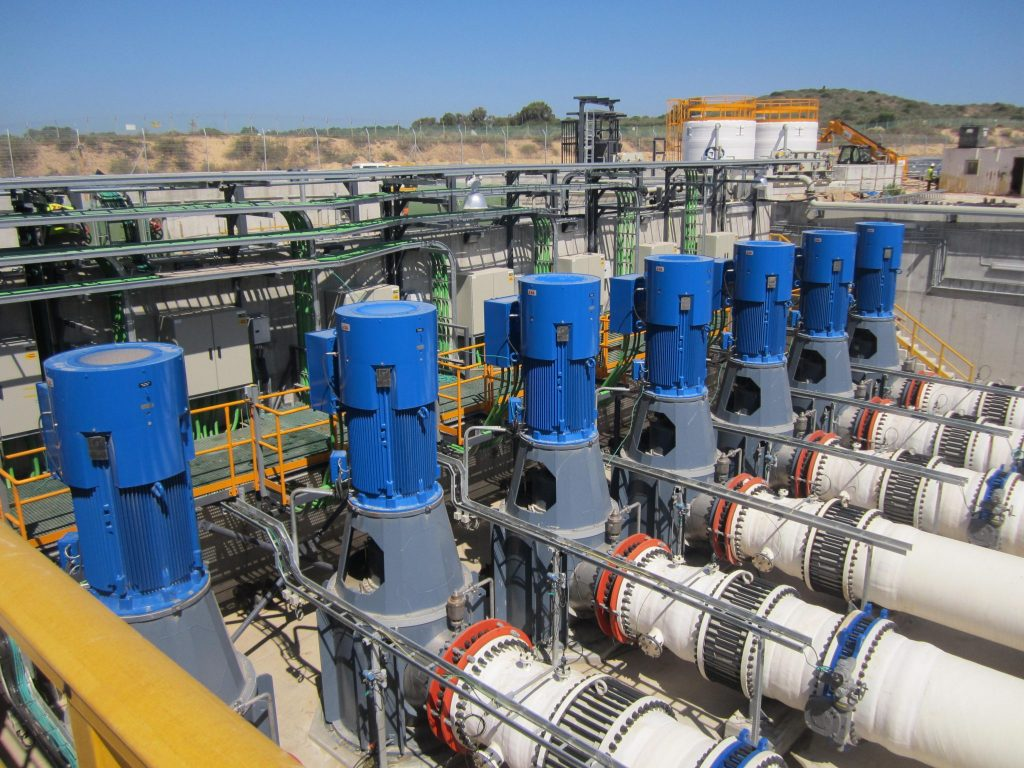 Water Desalination Plant in Israel