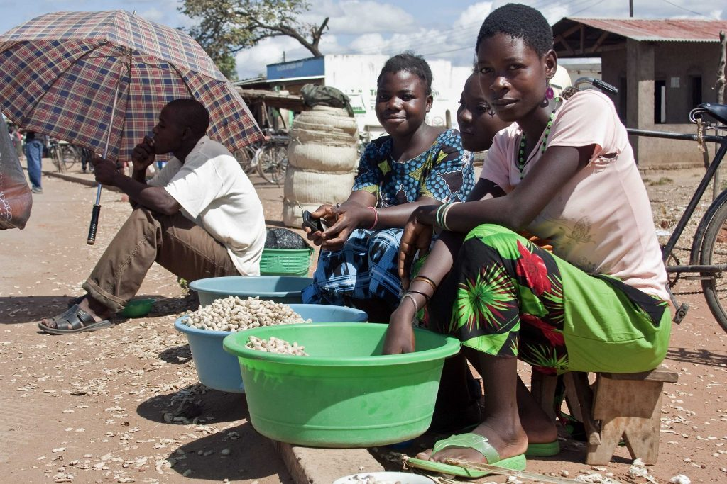 Woman in Malawi