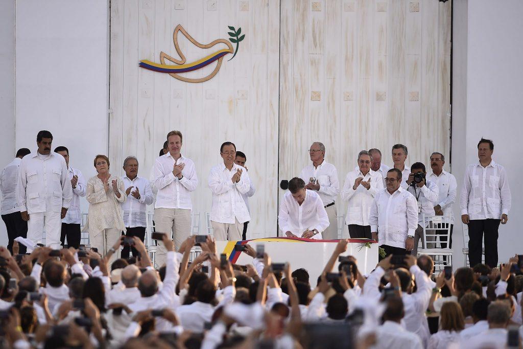 Peace Deal FARC
