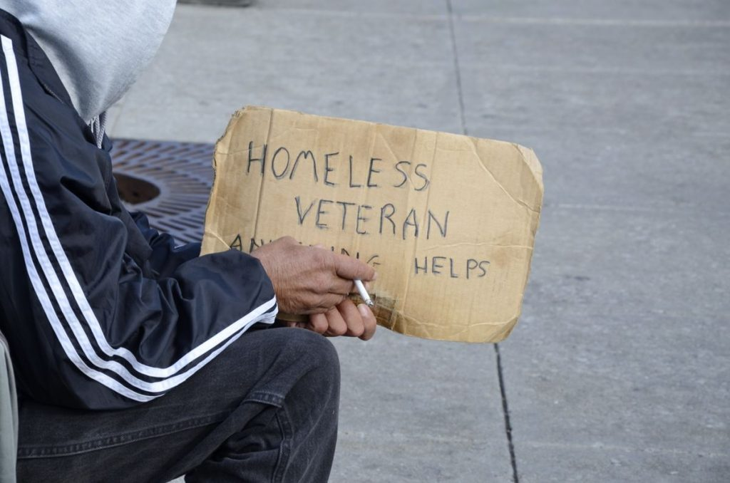 Homeless Veteran