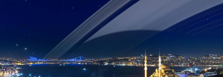 Istanbul at 41 degrees north.
