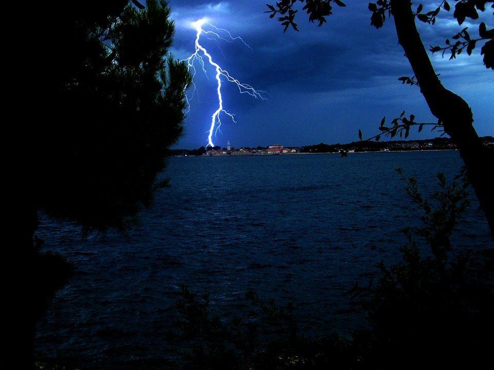 nikola tesla born storm croatia