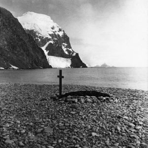 Ramsay's grave - Laurie Island. Photographer unknown. Source: Royal Scottish Geographic Society