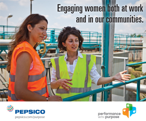 PepsiCo supports IWD