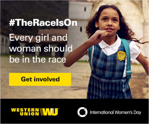 Western Union supports IWD