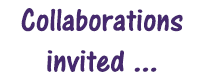 Collaborations invited