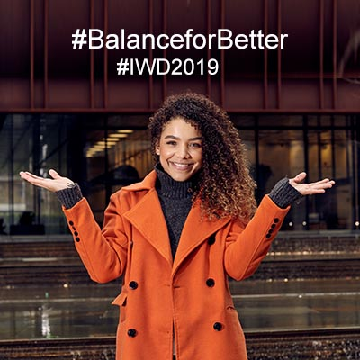 07932a5355890 Did you strike the  BalanceforBetter pose to show your support  How to plan International  Women s Day