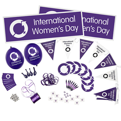 International Women's Day 2019 Event Packs