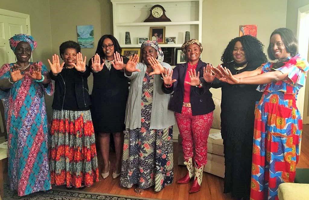 IWD women supporters