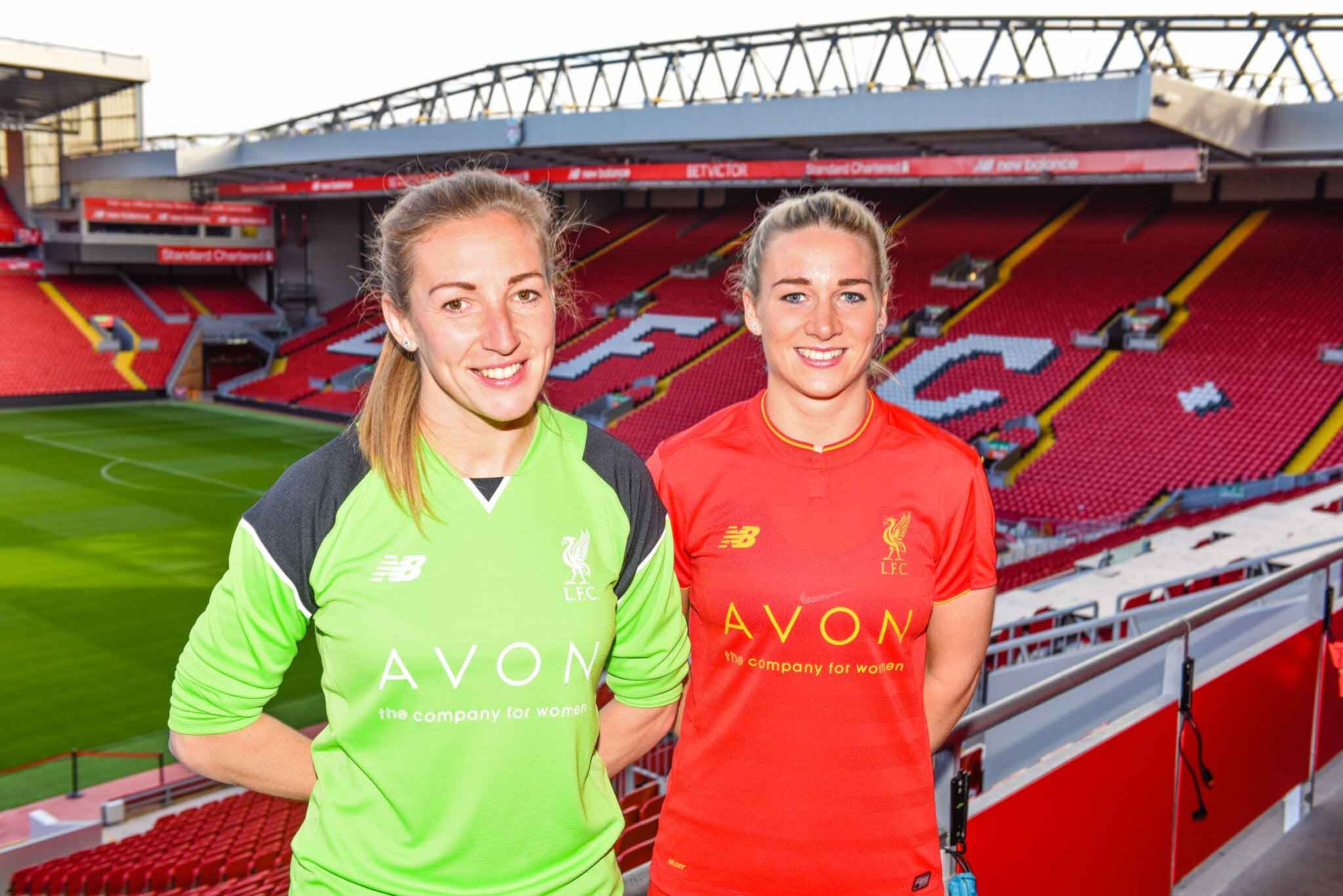 Avon Liverpool Ladies football sposnorship