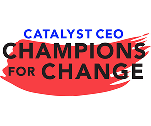 Catalyst champions for change