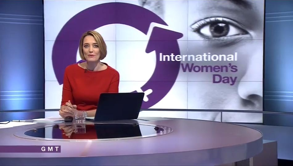 IWD women's day BBC