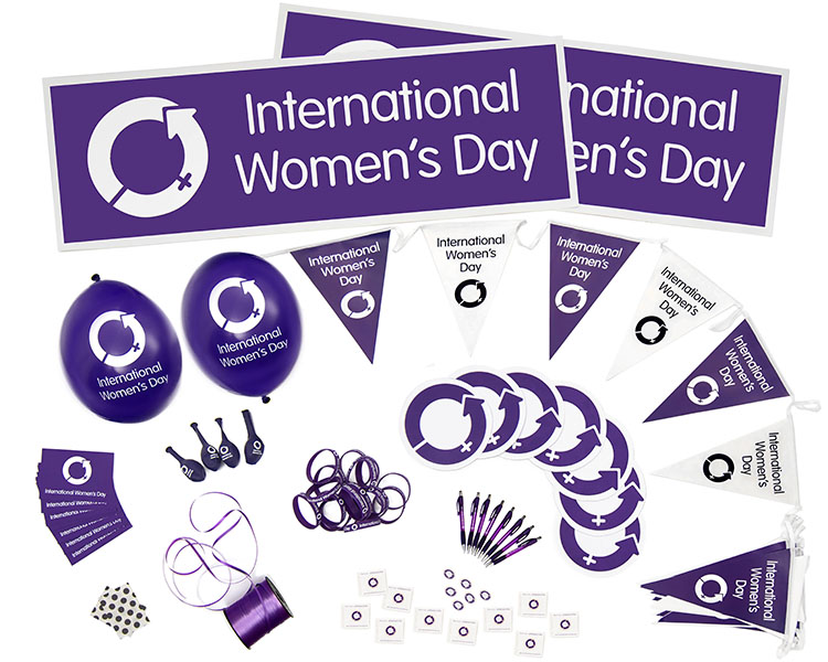 International Women's Day Event Packs